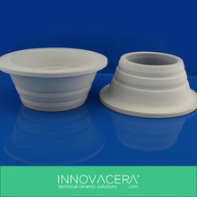 Alumina Ceramic Pouring Cup For Casting / INNOVACERA