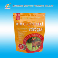 Resealable Stand Up Pouches With Zipper Doypack Fo,Customized Pet Food Bag With Resealable Zipper,Stand Up Pet Food Bags