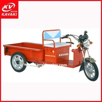 500W Small Mobile Electric Tricycle Three Wheels Trike Bike / Collecting Electronic Bicycle