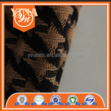 100% polyester knit houndstooth wool fabric