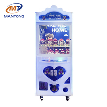 Mantong OEM&ODM cheap coin operated crane game / gift vending / arcade / toy claw machine for sale