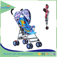 baby strollers wholesale polyester materail baby carriage/cheap japanese baby strollers with brake/steel frame carrier baby pram