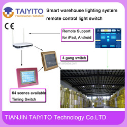 2.4GHz Zigbee Frequence Smart warehouse/parking lot/street lighting system remote control light switch