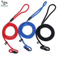 Quality Nylon Adjustable P Chain Rope Puppy Walking Lead 0.6*130cm Pet Dog Walking Traction Rope