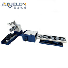 Brand new flat tube straightening and cutting machine for wholesales