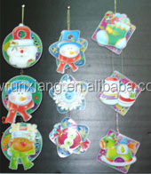 Paper Glitter Christmas Hanging angel Decoration Ornament