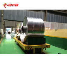 Explosion proof motorized automatic guided vehicle for steel coil transport