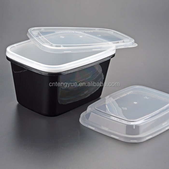 Personalized PP plastic insulated tiffin microwavable food catering box