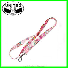 2014 new products sublimation cheap polyester customer lanyards