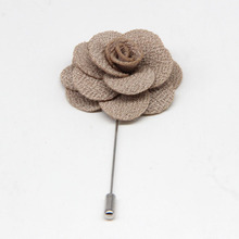 sepia magnetic handicraft brooch