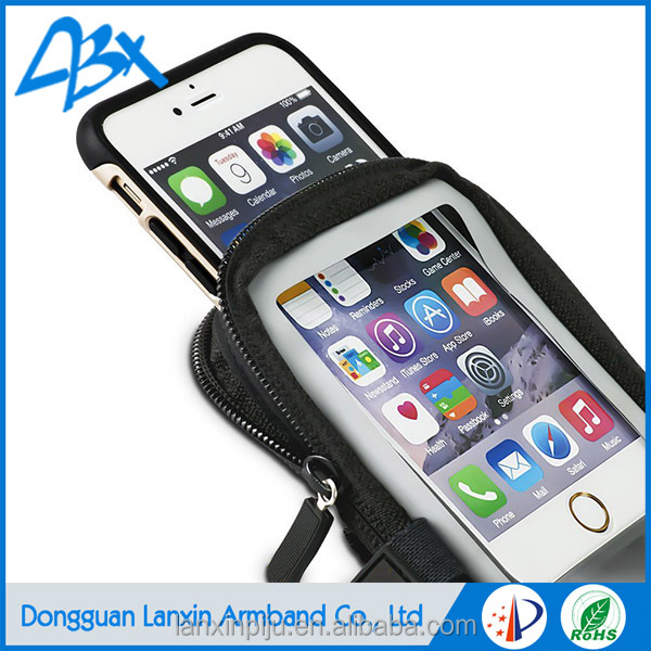 Wholesale armband sports travel phone case for iphone 6