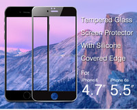 Mobile protective clear smart tempered glass screen protector for iphone 6