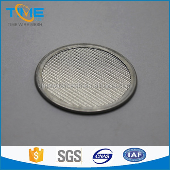 304/316 sintered stainless steel filter disc factory