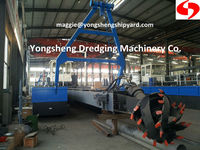 8 inch cutter suction dredging machine with Weichai Engine