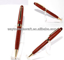 Elegent wooden roller ball pen