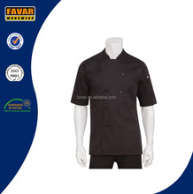 Unisex Long Sleeves Chef Uniform With Logo