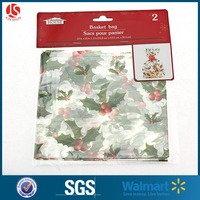 Gift Basket Packing Heat Shrink Film Wrap Dome Bag Plastic