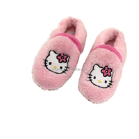 wholesale baby girl shoe with pink kitty pattern