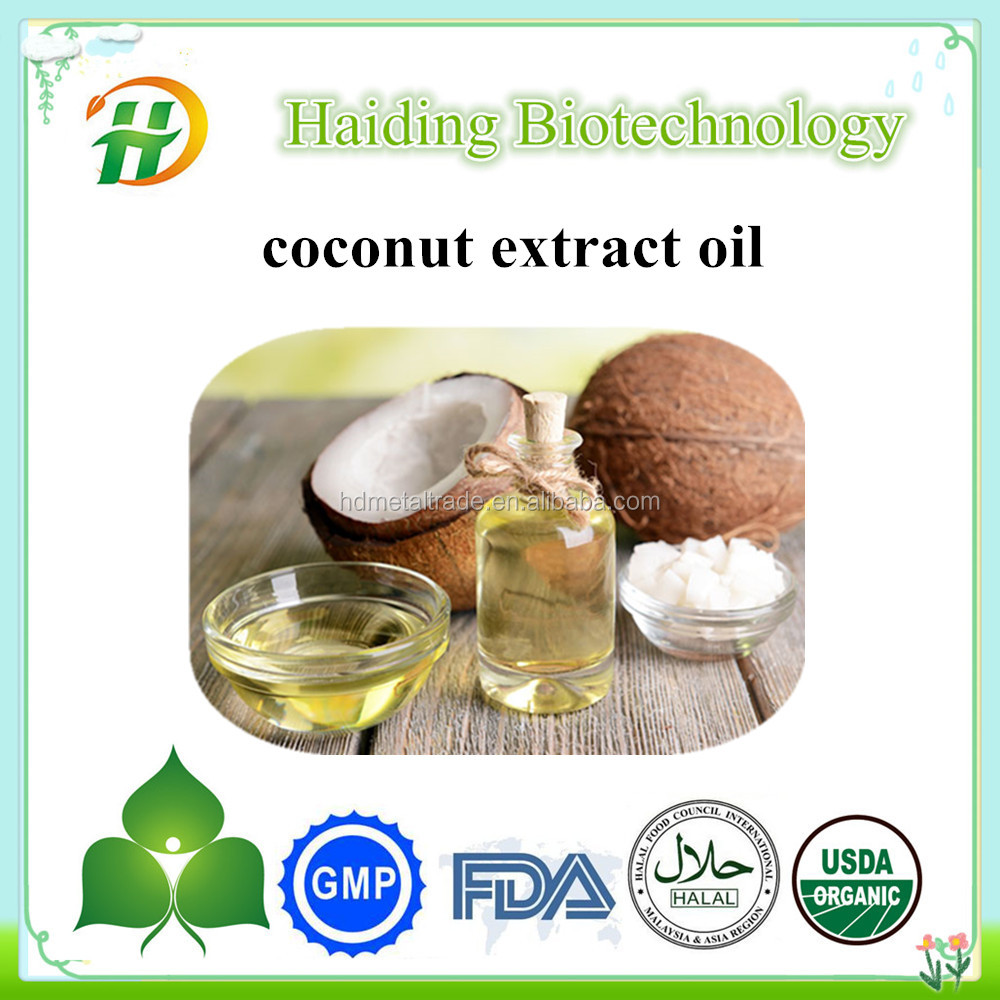 Gold Supplier Extra Virgin Coconut Oil , Cold pressed Coconut Shell Oil , Coconut Extract