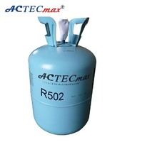 Gas refrigerator Purity more than 99.9% Refrigerant gas, R502 gas refrigerant ,13.6kg