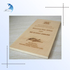 Carved Printing Big Wooden Display Board For Signboard