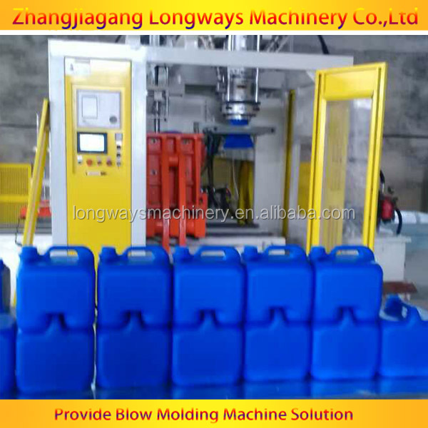 Extrusion Blow molding machine make plastic jerry can 5L 4L