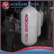 20L,20mpa Gas cylinder for car,CNG tank type 1,high pressure CNG cylinder