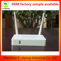 OpenWRT/DDWRT Broadband Wifi Router 300Mbps 1WAN 4LAN 100M 802.11n 300Mbps 2*5dBi detachable antenna CE FCC
