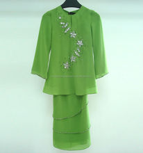 New design Islamic kids Girls Abaya for children