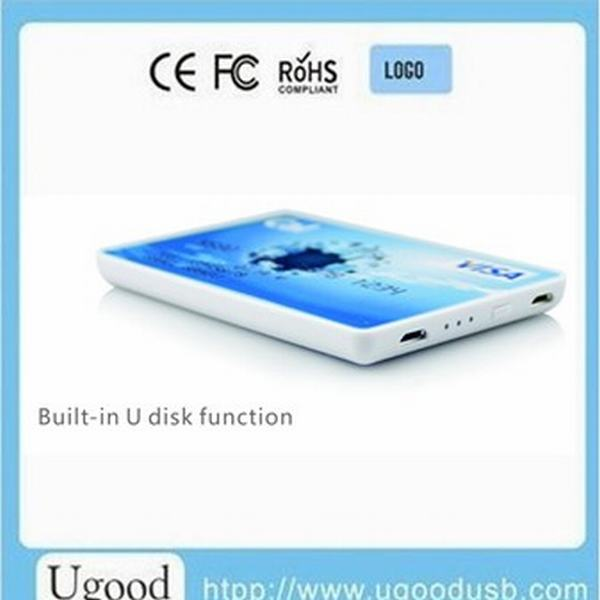 Super thin functional power bank,usb supply power for battery,portable power storage for smartphones digital products