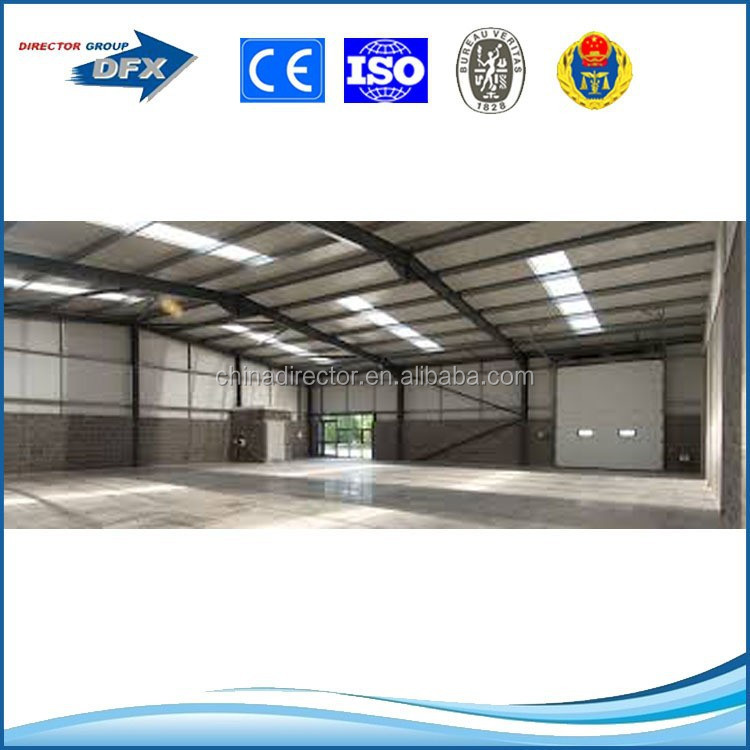 wind resistant design long life span durable prefabricated light steel structure building shed