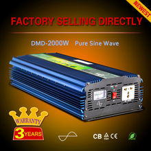 500w 1000w 2000w 3000w Pure sine wave solar power dc 12v/24v ac 220v invertor