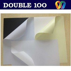 double100 factory self adhesive laninate PVC sheet for photo album