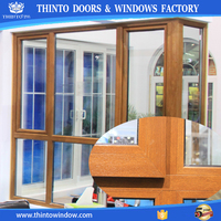 THINTO china supplier high quality beauty upvc window and door
