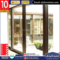 AS2047 wholesale high quality aluminium glass sliding door with 10years warranty