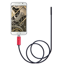 2 in 1 Android smartphone Waterproof Inspection 6 LED USB Endoscope Camera