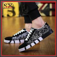 2017 custom brand men canvas shoes