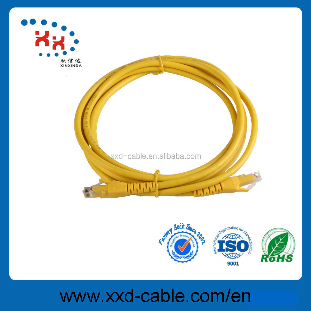 utp cat6 network cable with stranded