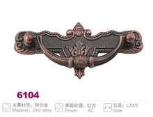 Antique Copper finish cabinet drawer handle pull from Wenzhou