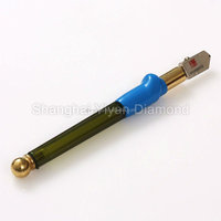 new arrival carbide tip oil feed glass cutter with plastic handle toyo glass cutter