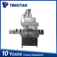 2016 Automatic plastic bottle capping sealing machine for 500 ml bottle cap sealer