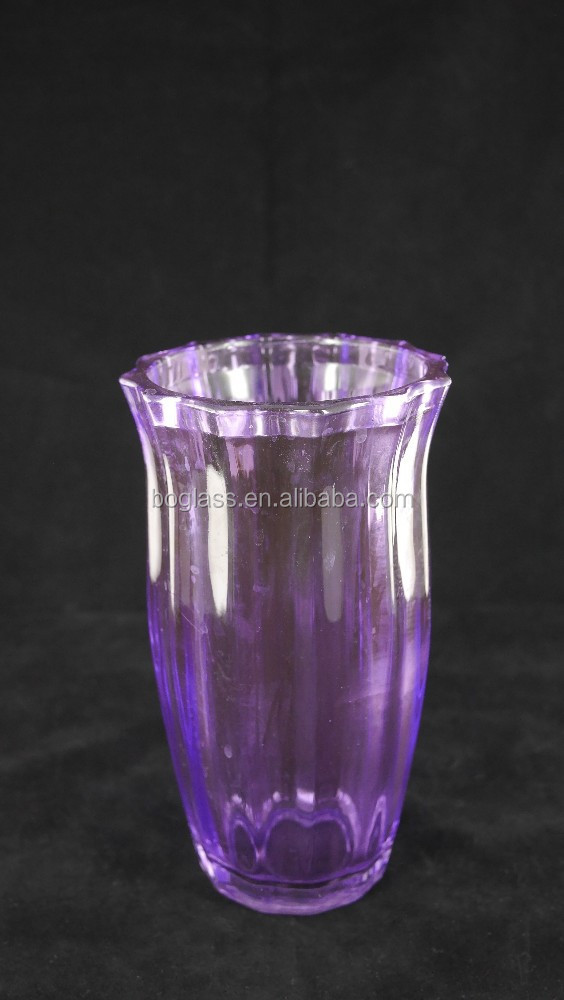 Wholesale tall clear glass vases cylinder for