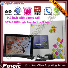 "Only 9.7"" custom made in china competitive price tablet pc"