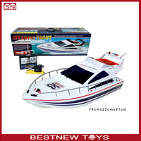 RC Atlantic Yacht Boat luxury yacht remote control fishing bait boat toy warship