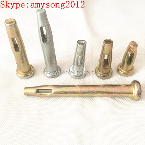 hot sales concrete formwork wedge pins aluminum formwork wedge pin
