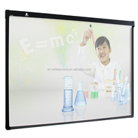 Smart equipment interactive whiteboard wall mounted electronic white board for drawing and writing