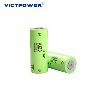 26650 2500mah lifepo4 battery cell ANR26650-M1B for A123 system