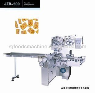 flavor fold packing machine,chicken cube packing machine