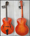 16inch fully handmade solid wood jazz archtop guitar