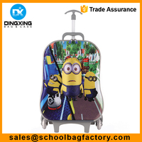 Trolley Bag for Boys 3D cartoon eva trolley bag Child school trolley bag